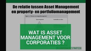 Wat is Asset Management voor corporaties?