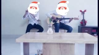 Jingle Bell - Sáo Trúc Li Shine vs Guitar Kiên Trần
