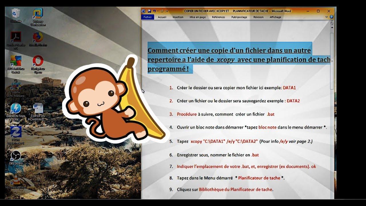 Faire Des Photocopies : comment faire des copies fichiers en automatique avec bat avec la planification de tache ~ Maxctalentgroup.com Avis de Voitures