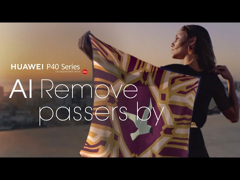 HUAWEI Golden Snap - AI Remove Passers-by