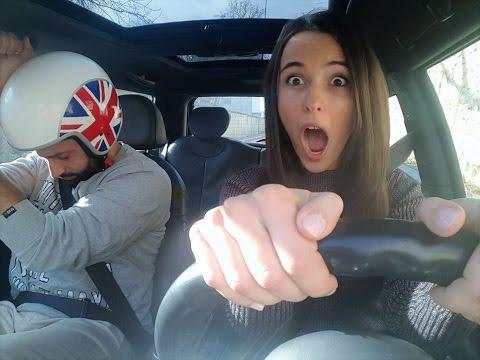 """Kerredine  et Louise en Cooper Live """" Le Tour du monde """""""