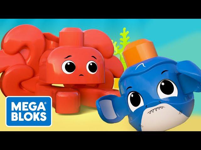 Mega Bloks™ - Sualtı Macerası | çocuk çizgi filmleri | Fisher-Price | öğrenme videoları
