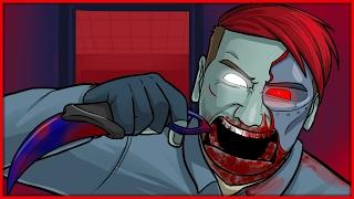 CS:GO Hide and Seek Funny Moments: Terroriser War Screams, Slapping Goldglove & Jumpscares!