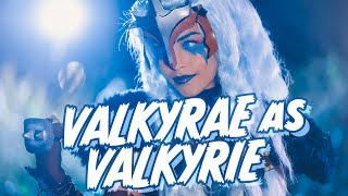 FORTNITE COSPLAY HALLOWEEN SPECIAL! Valkyrae as the Valkyrie Skin!