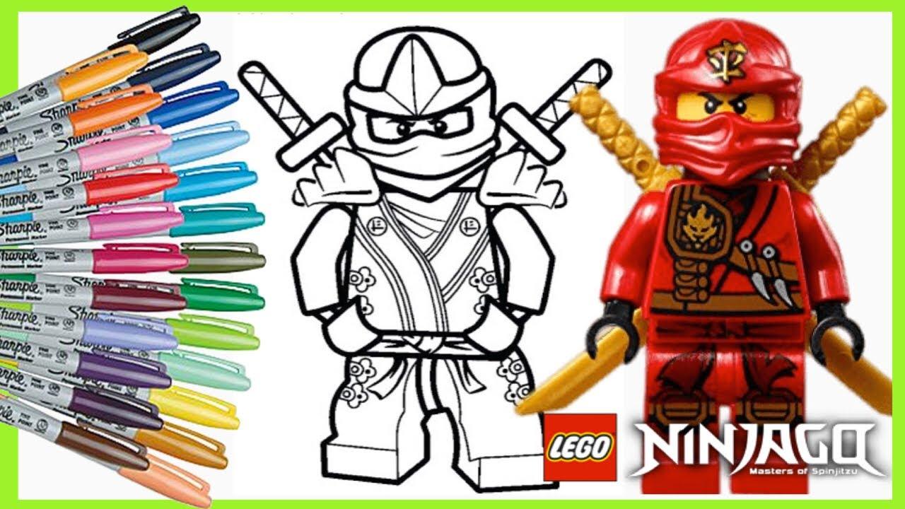 Menggambar Dan Mewarnai Gambar Ninja Mewarnai Untuk Anak Anak
