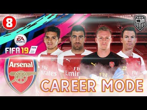FIFA 19 Arsenal Career Mode: Mulai Menggunakan Formasi Tiga Bek Saat Menghadapi Everton #8