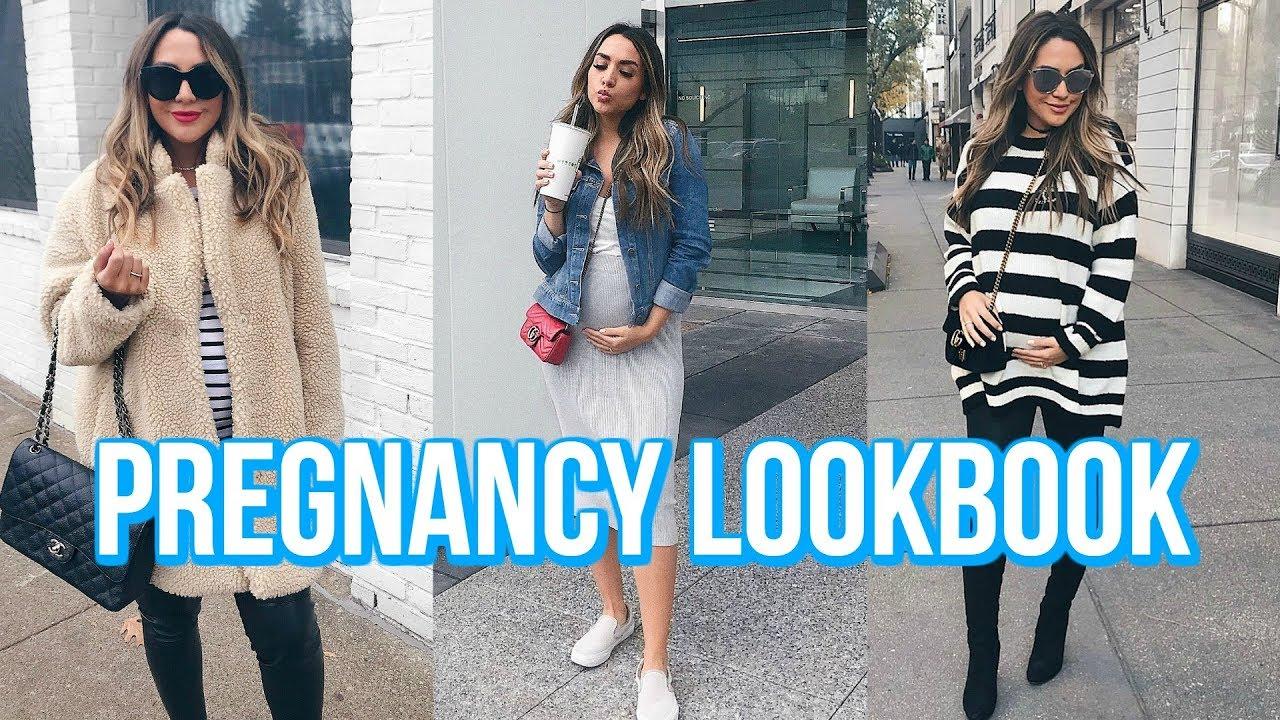 HOW TO DRESS CUTE WHILE PREGNANT | ALEX GARZA 9