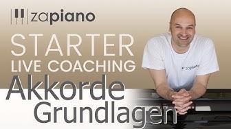 Akkorde für Einsteiger- Klavier Anfänger - Live Piano Coaching mit Sven Haefliger