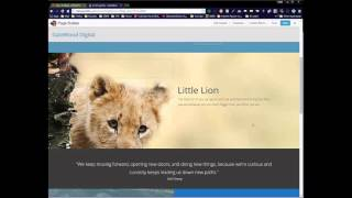 One-Page Scrolling Website Tutorial