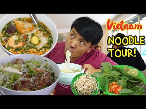 BEST Pho! TRADITIONAL Noodle Tour of Saigon Vietnam