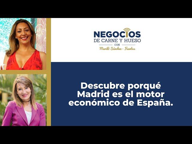 Conoce las CLAVES de Madrid como líder en la creación de empresas en España.