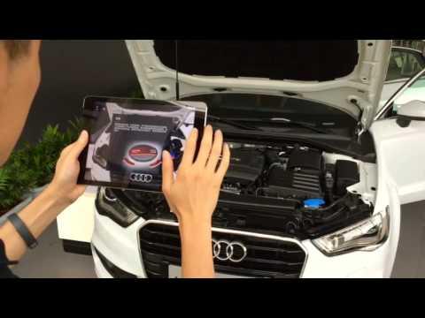 Interactive AR Engine Teacher – Audi A4