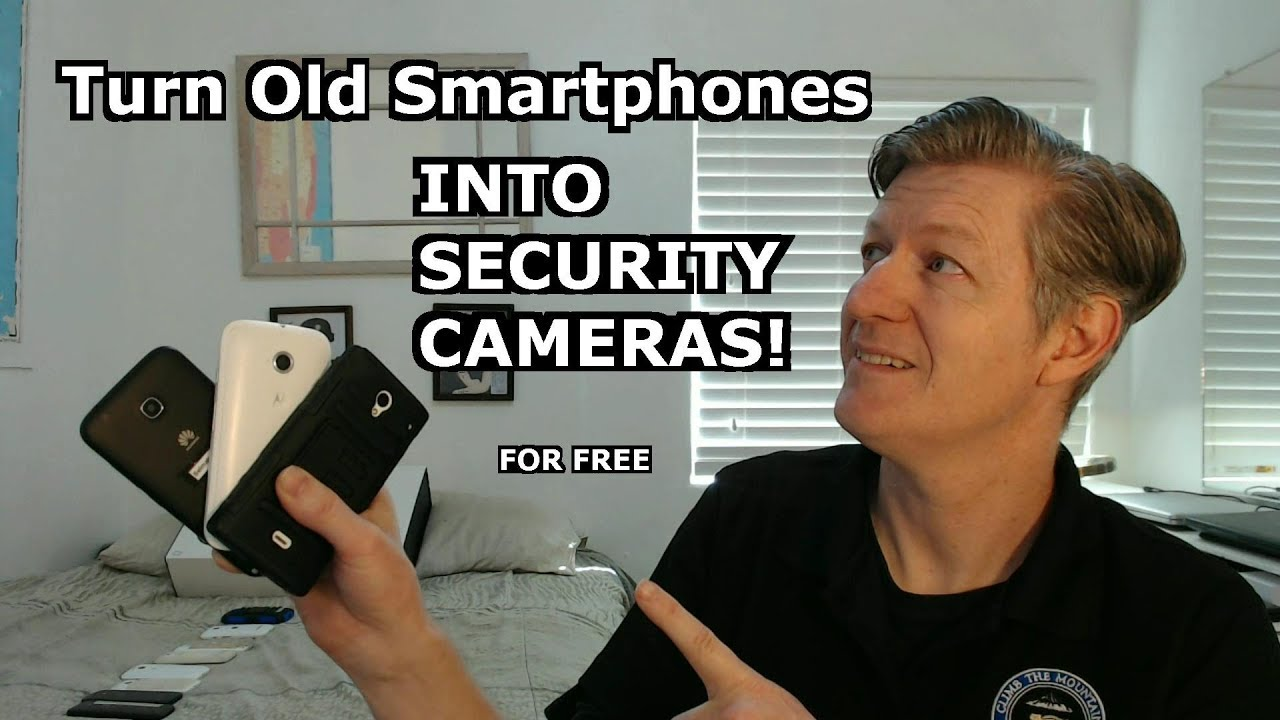 Turn Old Smartphones into Security Cameras with Motion Detection FREE Alfred