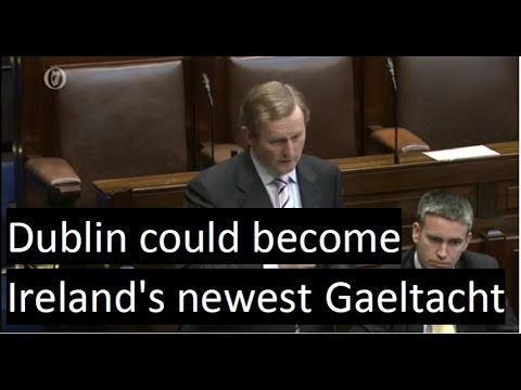 Dublin could become Ireland&39;s newest Gaeltacht  Nuacht TG4