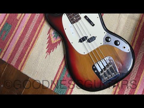 Fender MUSTANG BASS 1974 SB/R 【GOODNESSGUITARS 】shorts guitar mustangbass fender