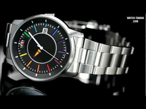 ORIENT STYLISH AND SMART DISK RAINBOW COLOR WV0761ER