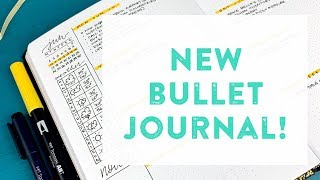 New Bullet Journal!