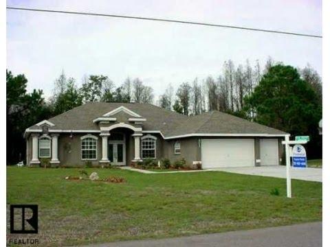 Land O' Lakes: 2568 sq. ft. 4/3 Home at 11655 Murcott Way