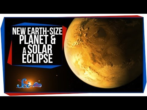 New Earth-Size Planet and a Solar Eclipse