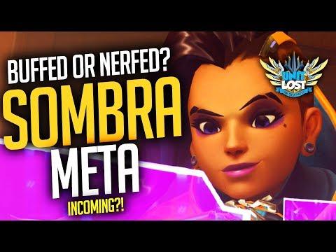 Overwatch - Sombra Hack Meta Incoming?! Sombra BUFFED or NERFED? thumbnail