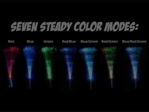 Fiber Optic Lamps 8 Mode With Color Change