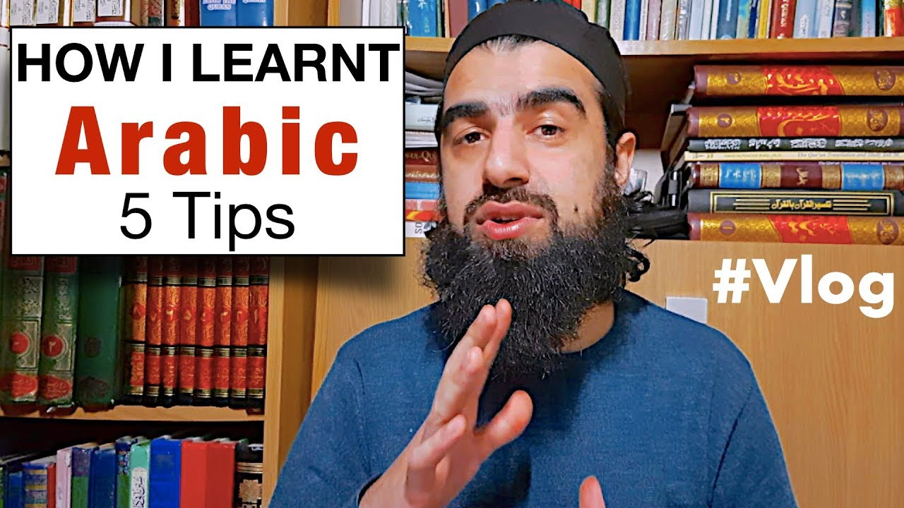 Repeat Vlog 2nd Feb: 5 things That Helped Me Learn Arabic by
