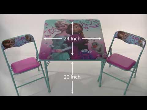 disney frozen activity table set youtube