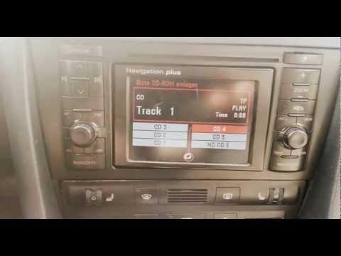 Audi A6 Avant Test (Navigation Plus + Lite 3 iPod-USB-AUX )