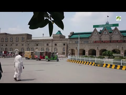 Pakistan Travel By Train Rawalpindi to Kohat KPK Journey 2018