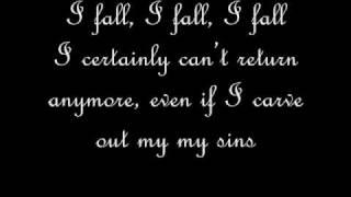 Futatsu No Kodou To Akai Tsumi(vampire knight) english lyrics