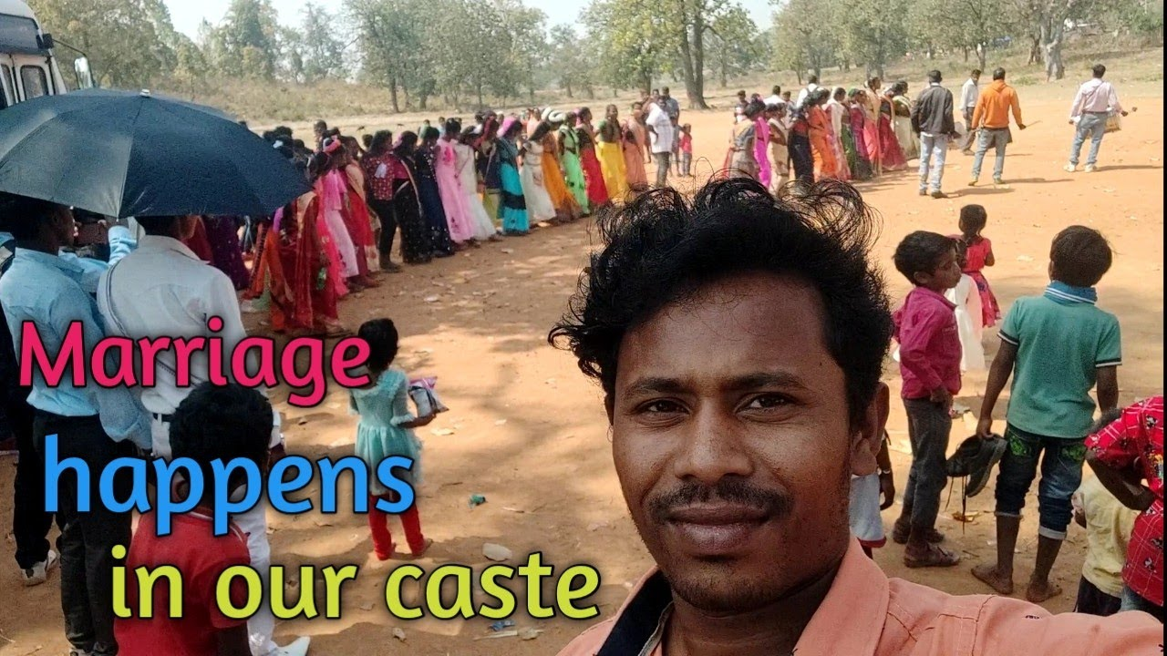 Marriage happens in our caste.