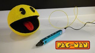 3D pen creation  -  Pac-man