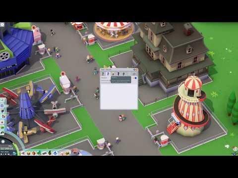 [PC] [1] Parkitect - Начало строительства парка