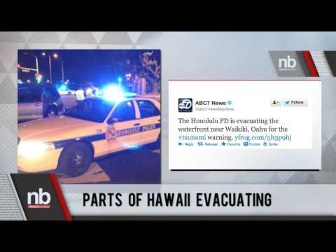 Breaking News: Parts of Hawaii Evacuating Due to Tsunami