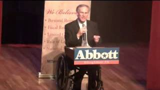 NE Tarrant Tea Party Hosts Texas Attorney General Greg Abbott