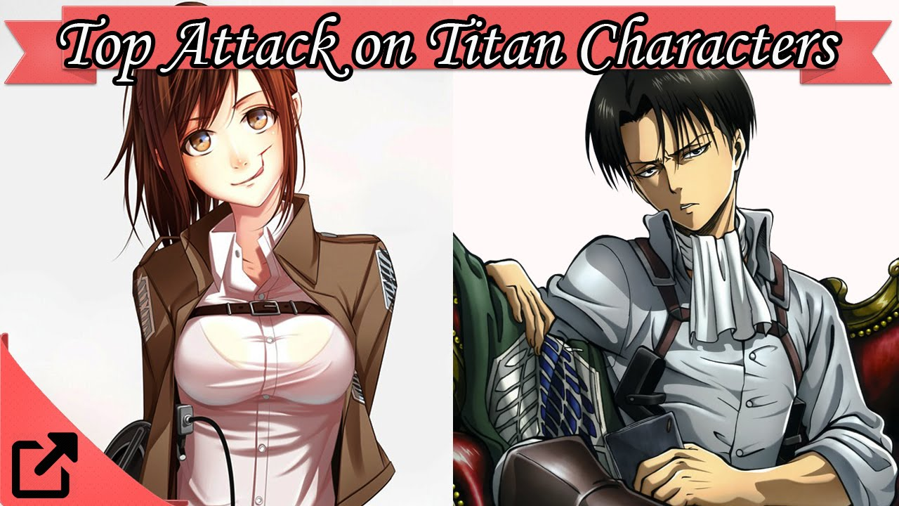 Anime Characters Popular : Top attack on titan anime characters youtube
