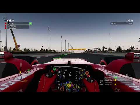F1 2017 Career Mode | Part 7 | Bahrain: RACE Gameplay 60FPS HD