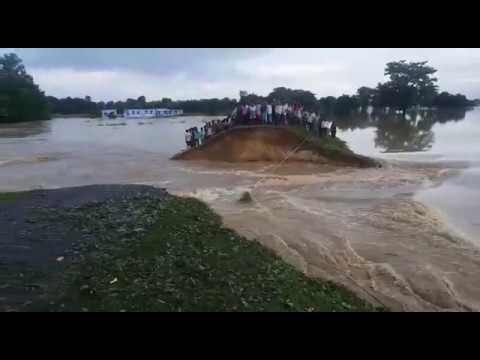 Heavy Flood in kushinagar Uttar Pradesh