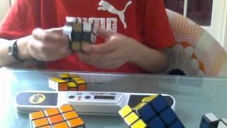 Rubik's cube 1x3x3 +3x3+3x3+3x3Icon+Miroir = 3 min 12