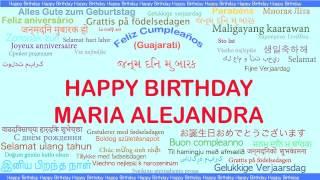 MariaAlejandra   Languages Idiomas - Happy Birthday