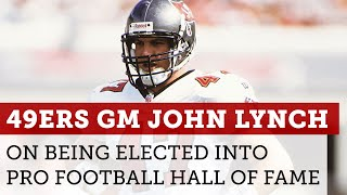 Pro Football Hall of Fame John Lynch Peyton Manning elected into Class of 2021 NBC Sports BA