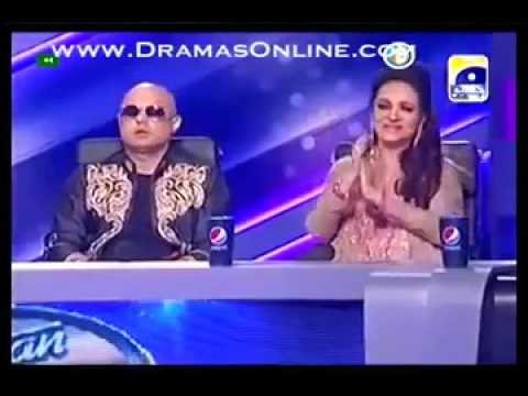 Abida Parveen in Pakistan Idol singing ghoom charakhra   YouTubevia torchbrowser com