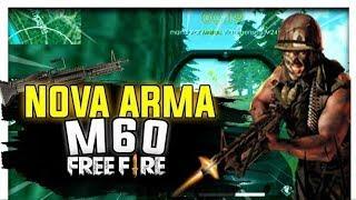 NOVA MELHOR ARMA DO FREE FIRE INCRÍVEL 10KILLS