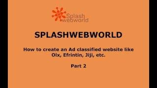 كيفية إنشاء إعلان تصنيف الموقع مع سكربت osclass الذي يحمل