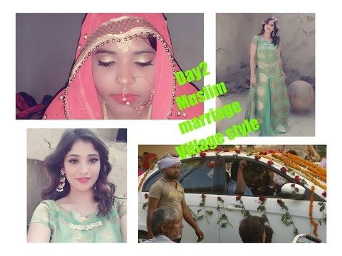 muslim wedding    village destination wedding    cousin sister barat     day 2    shybstyles