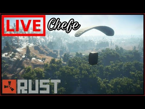 LIVE - Rust #30 Farmer Raid etc...