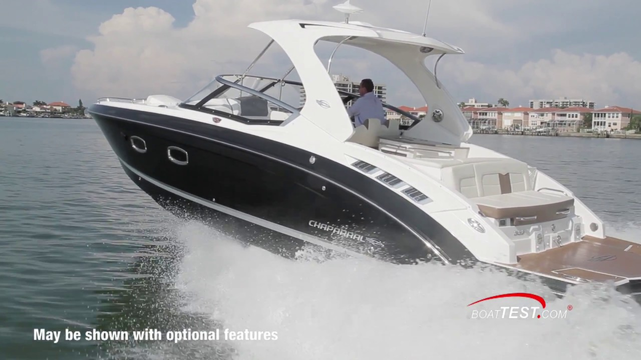 Chaparral 337 SSX (2018-) Test Video - By BoatTEST com