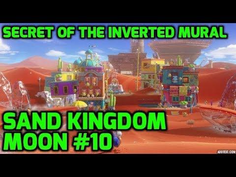 Super Mario Odyssey - Sand Kingdom Moon #10 - Secret of the Inverted Mural