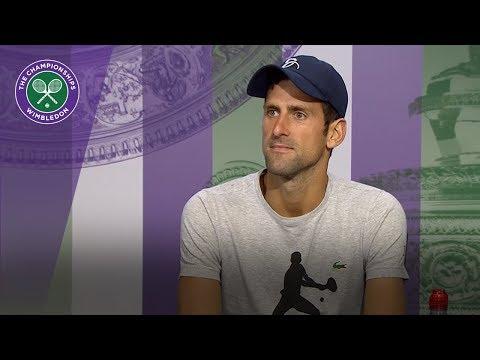 Novak Djokovic admits 'moments of doubt'   Wimbledon 2018