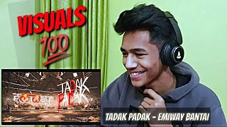 Emiway - Tadak Padak REACTION   ALaCRITiC